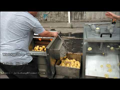 Semi-automatic French Fries Production Line | Small Scale French Fries Making Machine