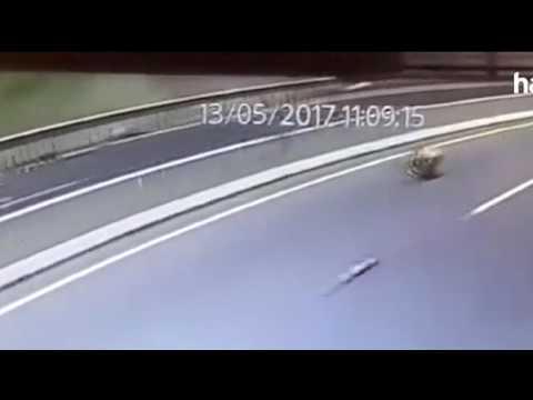 Marmaris'teki Korkunç Kaza Görüntülendi