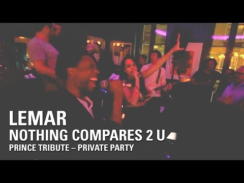 Lemar | Nothing Compares 2 U (Prince Tribute - Live - Private Show)