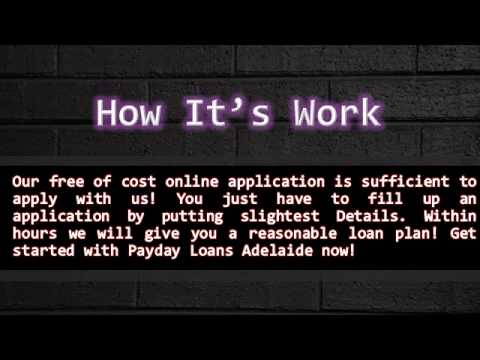Payday Loans Adelaide – Execute Your Dreams Without Any Trouble