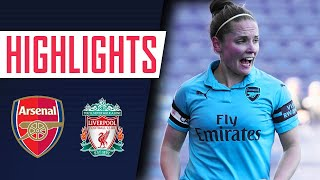 MEAD WITH A DOUBLE, MIEDEMA WITH A MADNESS! Liverpool 1 - 5 Arsenal | Goals and highlights
