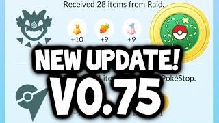 NEW POKEMON GO UPDATE V0.75 REVIEW & DATAMINE! (Massive Pokémon GO Bug Fixes!)