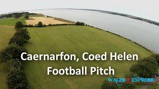 Caernarfon: Coed Helen football pitch
