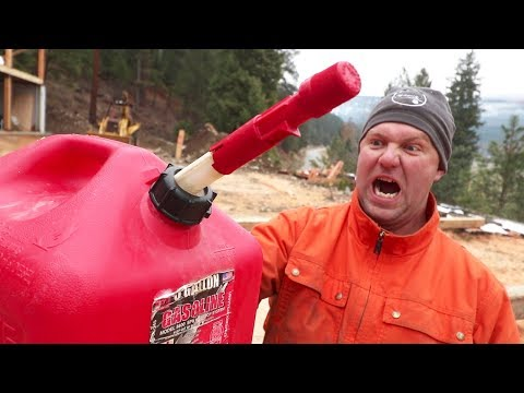 ANGRY NO MORE! (Awesome Gas Can Venting Hack)