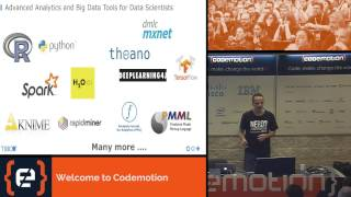 How to Leverage Machine Learning (R, Hadoop, Spark, H2O) for Real Time Processing - Waehner Kai