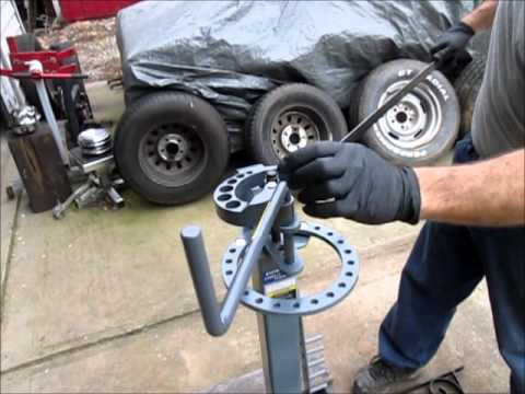 Harbor Freight metal bender/scroll