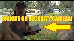 College Girl Caught on Security Camera HD Wow! You Won't Believe This!