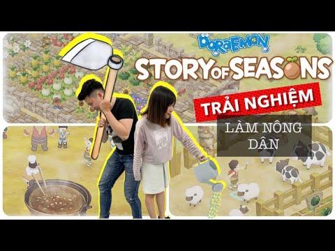 Cùng chơi game nông trại với Doraemon Story of Season trên Nintendo Switch   nShop  Games n Hobbies