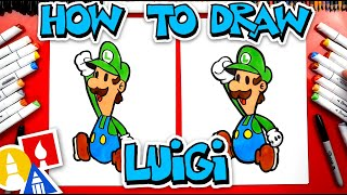 How To Draw Paṗer Luigi