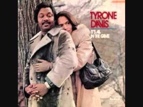 Tyrone Davis I Wish It Was Me