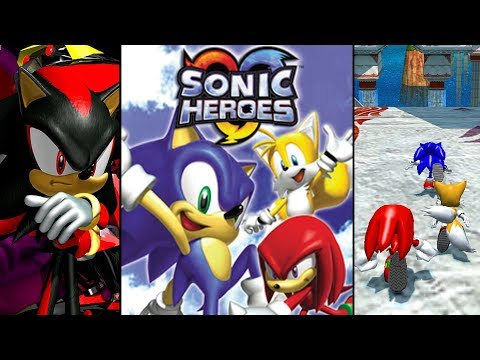 Sonic Heroes (Xbox/PS2/GC/PC) - Darkness Reviews