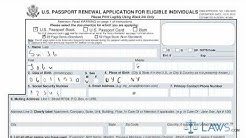 Learn How to Fill the Form DS 82 U.S Passport Renewal Application for Eligible Individuals
