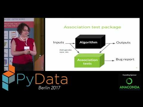 Françoise Provencher - Biases are bugs: algorithm fairness and machine learning ethics