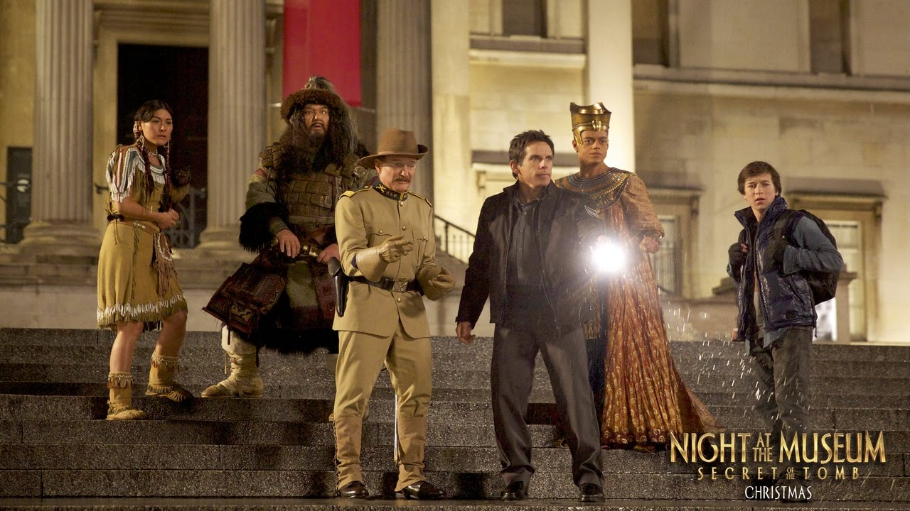 Night At the Museum 3: Secret of the Tomb   Cast ...