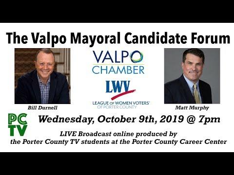 Valparaiso Mayoral Candidate Forum - LIVE