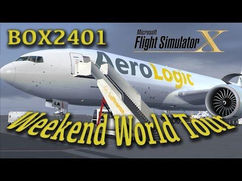 FSX WWT - Teil 1 - BOX2401 - EDDP EHAM Full-Flight