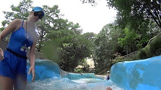 Whitewater Water Slide at Schlitterbahn New Braunfels