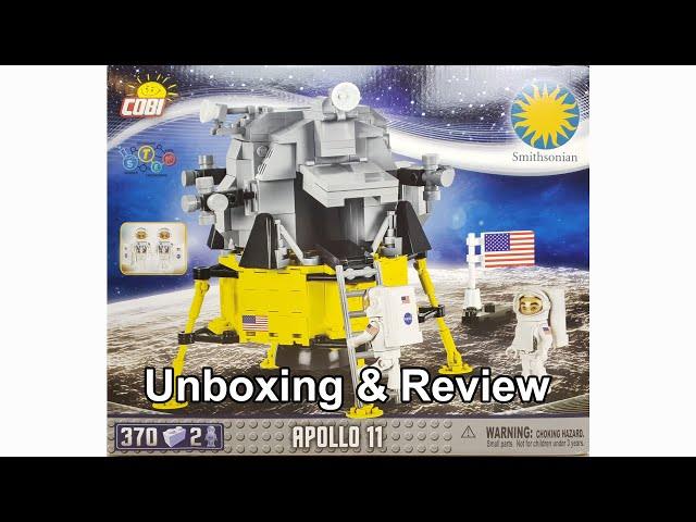 COBI 21079 Apollo 11 Mondlandefähre Smithsonian Edition Unboxing & Review