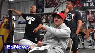 John Molina Has A Right Hand Like Deontay Wilder Says Robert Garcia EsNews Boxing