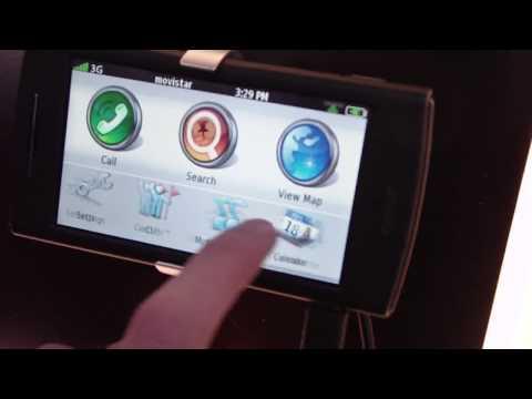 Garmin-Asus nuvifone G60 Hands-on