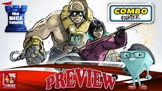 'COMBO FIGHTER' a Dice Tower Preview - with Boardgame Corner