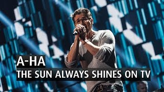"A-ha performs their song ""The Sun Always Shines on TV"" at the 2015 ..."