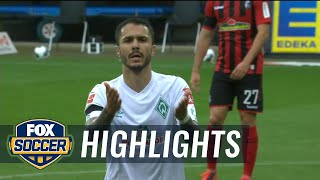 Werder bremen blanks sc freiburg 1-0, boosts status in relegation fight | 2020 bundesliga highlights