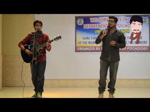 M ki S, university of Sindh's Arjit, kamran sario and Salam Mughal