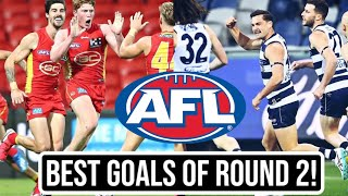 Each AFL Teams Best Goal Round Two 2020