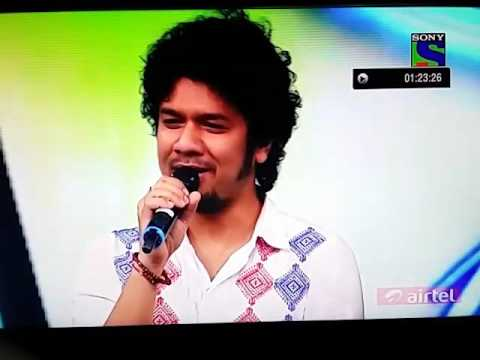 Angaraag Papon Mahanta Show off himself in Indian Idol Jr. with Nahid