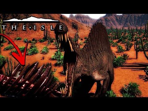The Isle - GORE SYSTEM UPDATES, NEW UI & DINO DOSSIERS, DINOSAUR OVERHAUL? ( Gameplay )