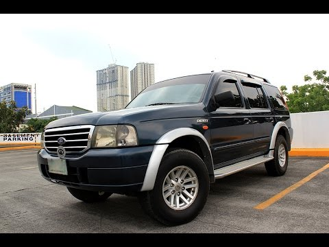 """2003-2006 1st generation Ford everest """"Ever"""" full video tour"""