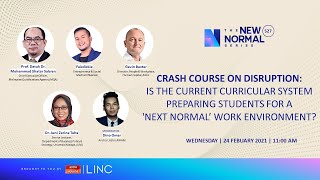 [LINC] Is the current curricular system preparing students for a 'next normal' work environment?