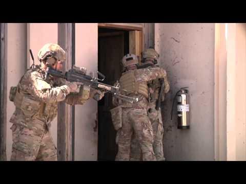 75th Ranger Regiment training