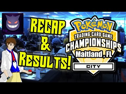 TOP 4 FINISH! Pokemon TCG City Championship Results and Recap! (Maitland Florida)