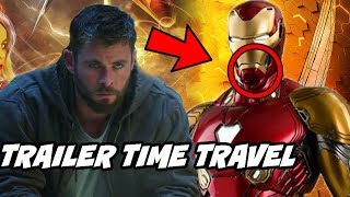 Avengers 4 Endgame Trailer Time Travel Breakdown Explained Hindi Official