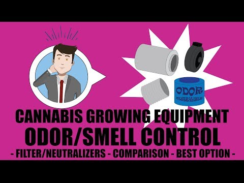 Weed Grow Operation Set Up - Odor Neutralizer