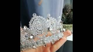 Свадебная корона ручной работы Wedding Crown