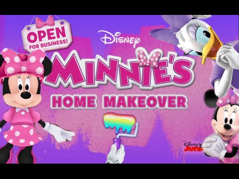 "Minnie's Home Makeover ""Disney Junior Games"" Android İos Free Game GAMEPLAY VİDEO"
