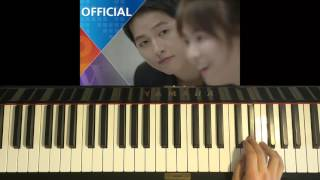 "HOW TO PLAY - 첸 (CHEN) ft. 펀치 (Punch) - ""Everytime"" - 태양의 후예 (Piano Tutorial)"