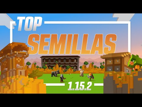 Top 10 Semillas Para Minecraft 1.15.2 (Mansiones, Portal End, Abejas, Poblados...) | Zonacraft