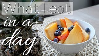What I eat in a day - ohne Stress & Kalorien zählen!