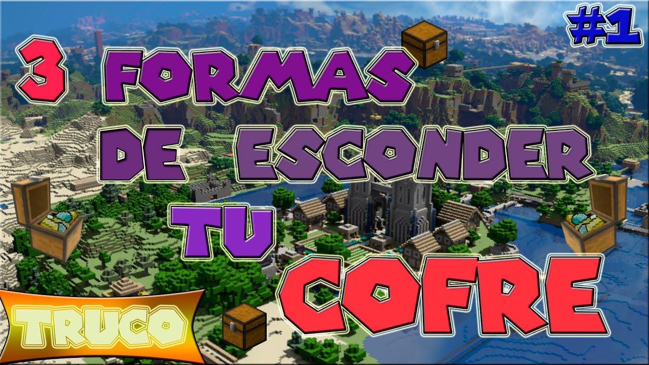 Piscina Jose Garces Of 3 Formas De Esconder Tu Cofre Minecraft Youtube