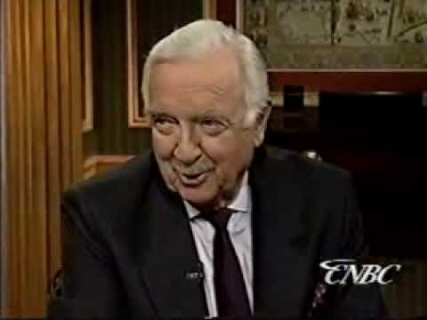 Tim Russert - Walter Cronkite Interview (1995)