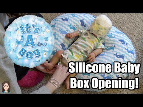 Silicone Baby Box Opening! My First Silicone! | Kelli Maple