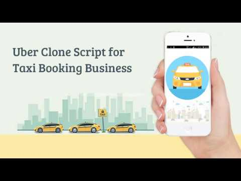 Uber Clone Script for Your Taxi Booking Business