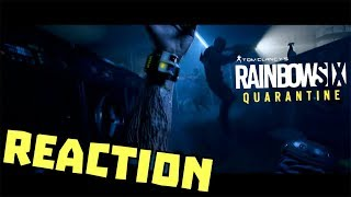 REACTION RAINBOW SIX SIEGE QUARANTINE - E3 UBISOFT