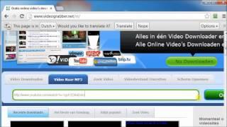 Youtube video omzetten naar mp3 bestand