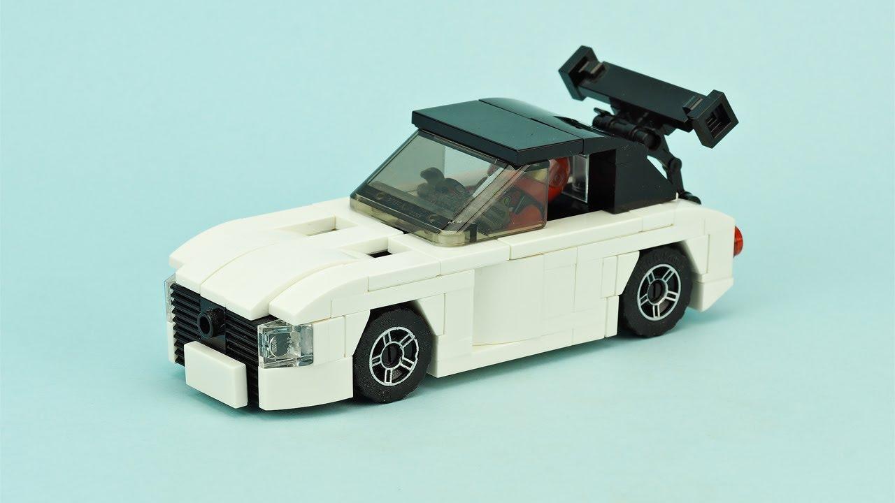 LEGO Street Race Car  MOC Building Instructions