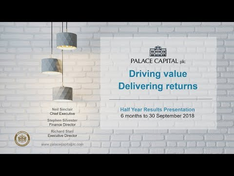 Palace Capital (PCA)  Presentation at MELLO London November 2018